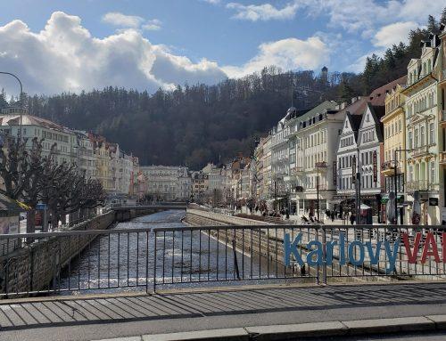 "Kartpostal Şehir ""Karlovy Vary"""
